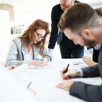 Planen und Skizzieren Ihres Enterprise Service Managements