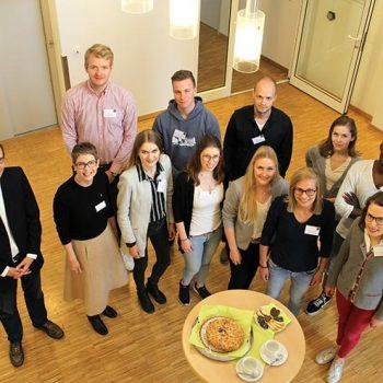 Gruppenfoto Studierende