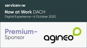 agineo ist Premium-Sponsor auf der Now at Work 2020