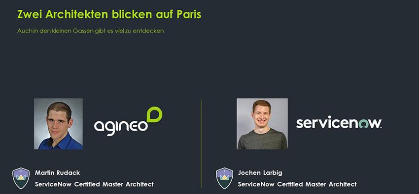 """Zwei Architekten blicken auf ServiceNow-Release """"Paris"""""""