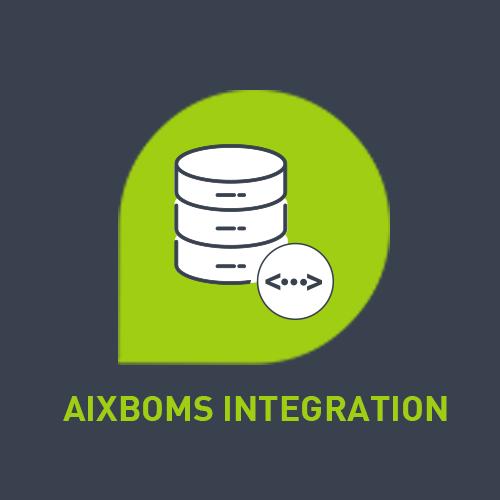 Logo der ServiceNow-App AixBoms Integration
