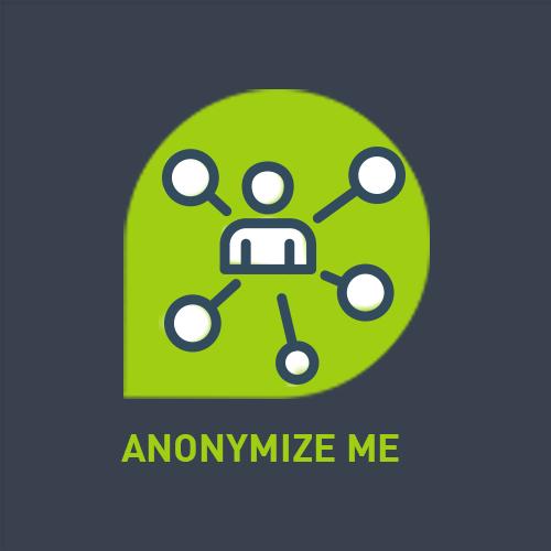 """Logo der ServiceNow-App """"Anonymize Me"""" von agineo"""