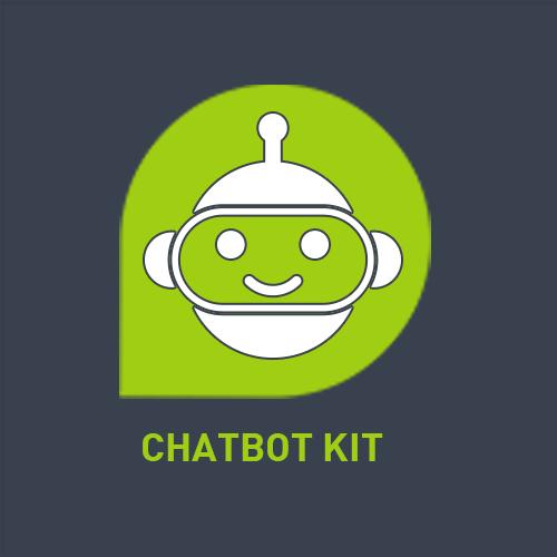 """Logo der ServiceNow-App """"Chatbot Kit"""" von agineo"""
