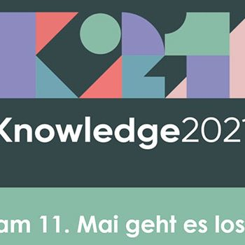 Banner für das ServiceNow-Event Knowledge 2021 am 11.05.2021 ©ServiceNow
