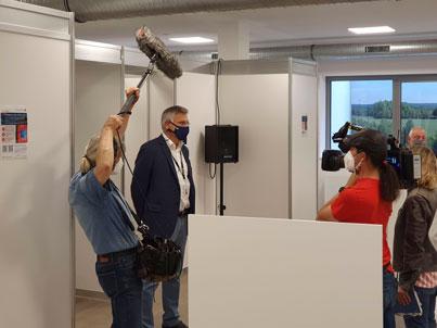 Interview mit dem WDR ©KISTERS AG