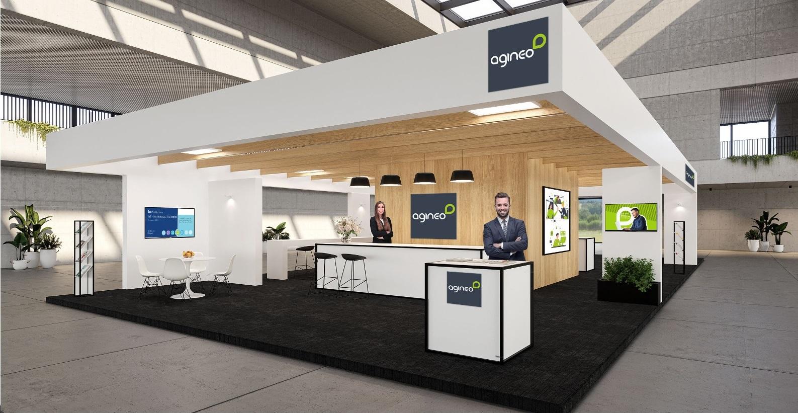 agineo-Stand beim Bayerischen Anwenderforum 2021